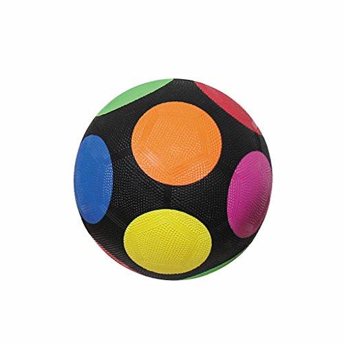 First-Play - Mini balón de fútbol arcoíris