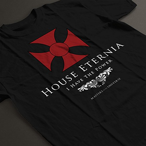 House Eternia I Have The Power He Man Masters Of The Universe Women's T-Shirt Black