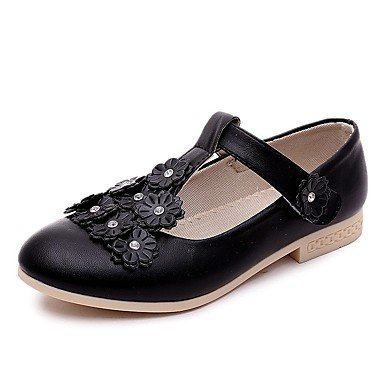 LIDOG Extérieure Décontracté Soirée & Evénement-Noir Rose Blanc-Talon Plat-Confort Light Up Chaussures-Ballerines-Similicuir Pink