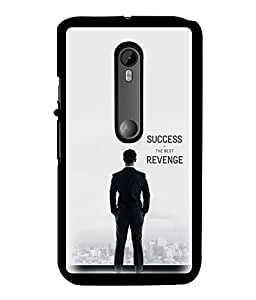Fuson 2D Printed Quotes Designer back case cover for Motorola Moto G3 - D4435