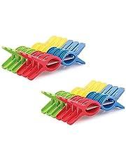 Sajani Plastic Cloth Hanging Clips Set of 24 Pieces (2 Dozen)(24 Pcs)