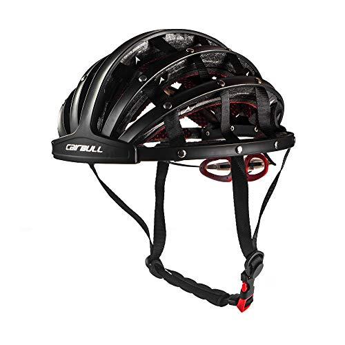 Blusea Erwachsene Fahrradhelm Faltbare Rennrad Schutzhelm Leichte Sport Schutzausrüstung Herren Damen