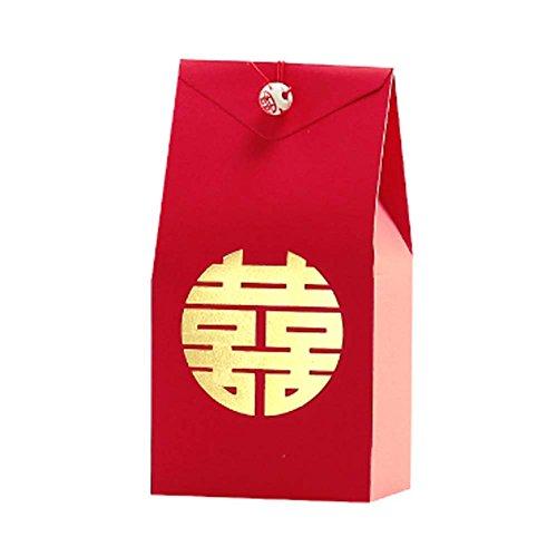 40 Stücke Chinesischen Stil Papier Geschenkbox Dekorative Leckereien Boxen Cookies Pralinenschachtel Für Hochzeitsfest