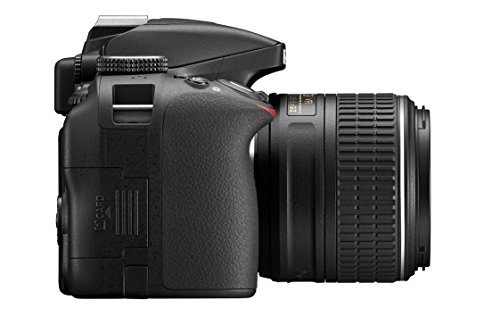 Nikon D3300 24.2MP Digital SLR (Black) + AF-P DX NIKKOR 18-55mm f/3.5-5.6G ED VR Lens + Memory Card + Camera Bag