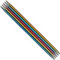 Addi Colibri 204-7 Hb Colibri - Agujas de tejer de doble punta, multicolor, 20 cm/2.5 mm