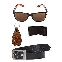 Abloom Mens Belts & Wallet Stylish Combo