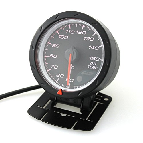 WINOMO Auto Wasser Temperatur Messger/ät 12V Auto Wasser Temp Gauge f/ür Limousine LKW Bus Boot