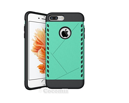 iPhone 8 Plus / 7 Plus Coque, Cocomii Paladin Armor NEW [Heavy Duty] Premium Tactical Grip Slim Fit Shockproof Hard Bumper Shell [Military Defender] Full Body Dual Layer Rugged Cover Case Étui Housse  Green