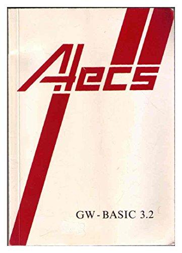 GW - Basic 3.2(Alecs) -- Microsoft GW-Basic Interpretierer Betriebsanleitung Handbuch Manual -- Artikelnr. 01343, Dokumentnr. 8632-320-00-1