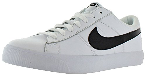 Nike Match Supreme LTR Black Grey Mens Trainers - 631656-001 White / Black - Black - White