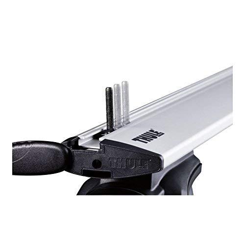 Thule 696400 Adattatori Fissaggio Box su Canaline a T, 24 x 30 mm Set di 4