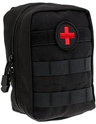 MagiDeal Pochette Tactique Molle EMT Médecine EMS Paramédicale Sac de Survie d'urgence Kit de Premier Secours Attache à Ceinture