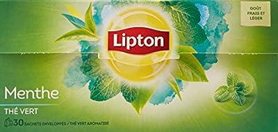 Lipton Thé Vert Menthe x30 Sachets 48g