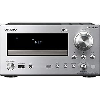 onkyo mini system. onkyo micro cr-n765 sil.cd network 2x22w s/box mini system