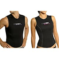 Cressi - Vest Blacklite 3.5 mm Lady, color black, talla M