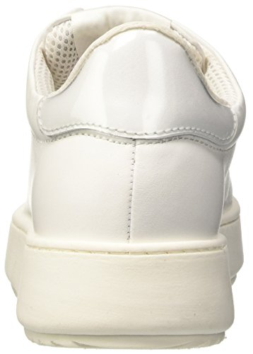 Twin Set Milano Cs7ph3, Baskets Basses Femme Blanc (blanc Soie)
