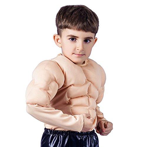 -Muskel-Kostüm (L :10-12 Jahre) ()
