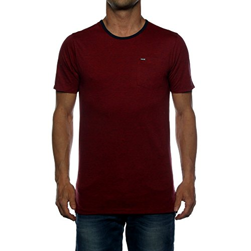 Herren T-Shirt Hurley Beach Break Crew T-Shirt GYM RED