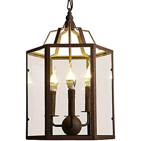 MSUXT lampade a sospensione Industrie rurali retrò Loft 6 retro