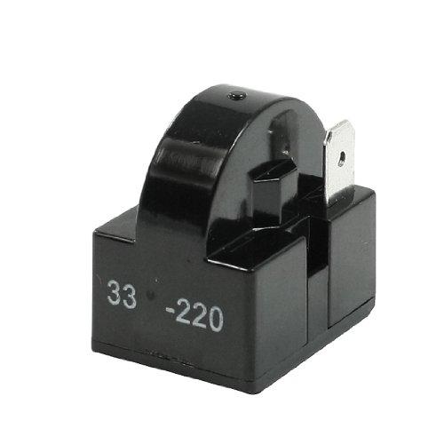 33 Ohm Widerstand Einzel Pin Terminals Kühlschrank PTC Anlasser Relais Magnetschalter -