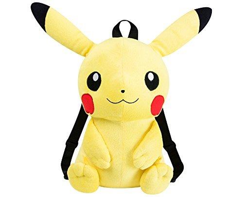 Pokemon-Pikachu-Afelpado-Mochila-Pikachu-Bag