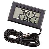 Digital LCD Thermometer Wasserdicht Tauchfähig Zuchttemperatur Meter (-50 ° C ~ 110 ° C) -...