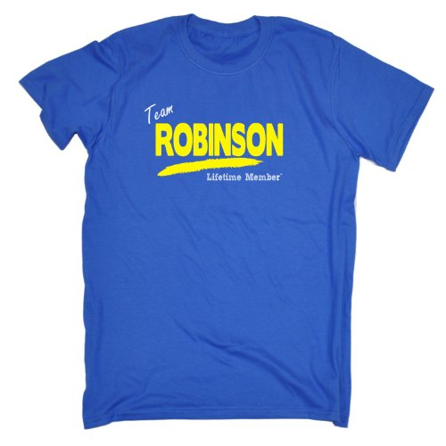 Its A Surname Thing Boy/Girl - 'TEAM ROBINSON LIFETIME MEMBER' FAMILY NAME - Men's T-shirt