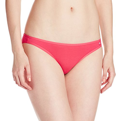 Jockey Women's Cotton Bikini Brief (SS02_Ruby_Medium)