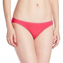 Modern low rise bikini. Fashionable bi-fold Ultra-Soft elastic. Super combed cotton elastane stretch fabric. Label free for all day comfort.