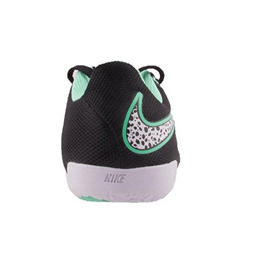 Nike Jungen Jr Hypervenomx Pro IC Laufschuhe schwarz grün