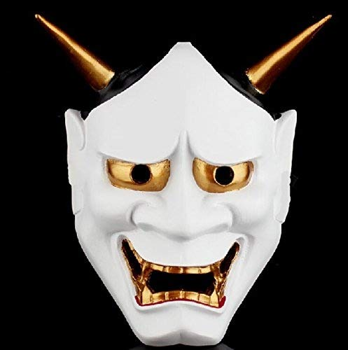 Festival de Halloween Costume Horrible máscara emoción decorativa Cosplay japonés Prajna Ryel máscara