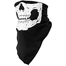lumanuby bufanda con versátil Magic Ride máscaras cálido baberos peregrinos Props fantasma de calaveras Harley esquí ciclismo motocicleta