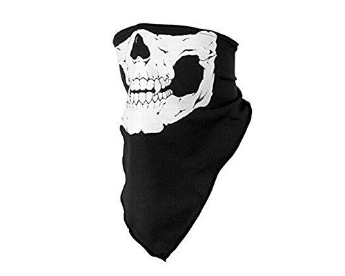 Cosanter Motorrad Biking Rave Maske Halloween Stützen Halstuch Face Shield Stirnbänder Multifunktionstücher für Fahrrad Ski Snowboard Paintball Klettern Wandern