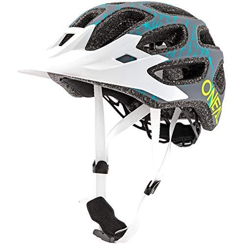O'Neal Thunderball 2.0 Fusion Mountain Bike Helm MTB Fahrrad Trekking BMX Rad Sport, 0007-F0, Farbe Weiß, Größe L/XL/XXL
