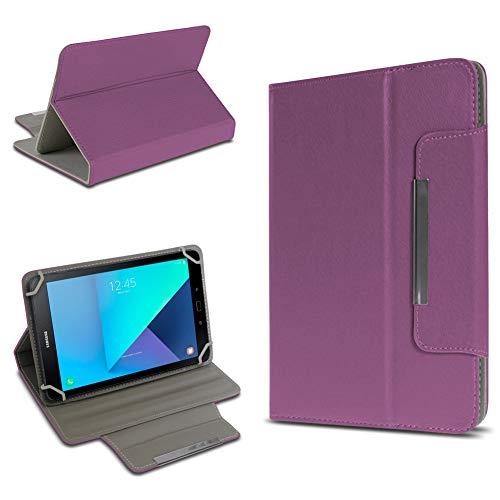 UC-Express Tablet Tasche kompatibel für Samsung Galaxy Tab Active 2 Hülle Tablet Schutzhülle Case Schutz Cover, Farben:Lila - Tab 2 Lila Galaxy Case Samsung