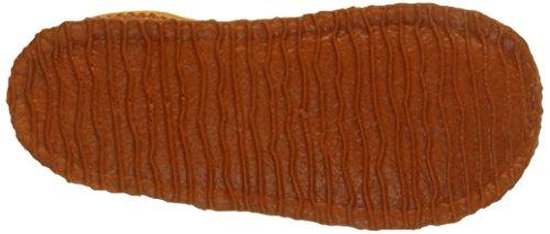 Giesswein Albessen, Chaussons Doublé Chaud Garçon Orange (188 Mandarine)