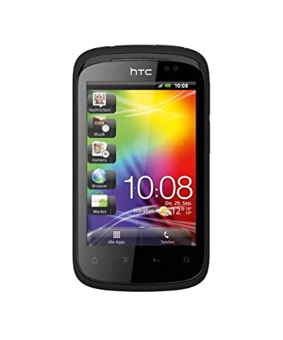 HTC Explorer Smartphone (8,1 cm (3,2 Zoll) Display, Touchscreen, 3,15