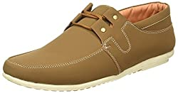 Action Shoes Mens Tan Sneakers - 6 UK/India (39.5 EU)(DS-39-TAN)