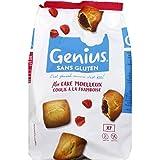 Genius France - Cake Moelleux Coulis Framboise Sans Gluten - 280G - Lot De 3 - Prix Du Lot - Livraison Rapide En France Métropolitaine Sous 3 Jours Ouverts