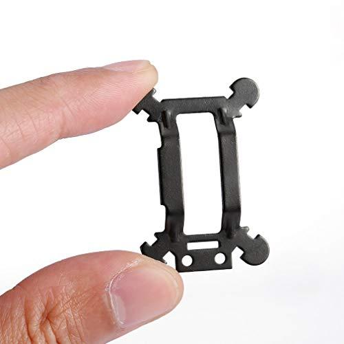 Leoboone Durable Aluminium Stoßdämpfer Komponenten Kardanische Vibrationsplatte Kardanische Dämpfungsplatte Für DJI Mavic Pro -
