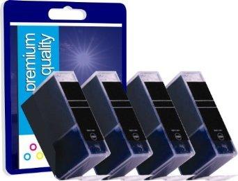 4 Gris Nouvelle Version Premium Qualité Haute Capacité 100% Compatible cartouches d