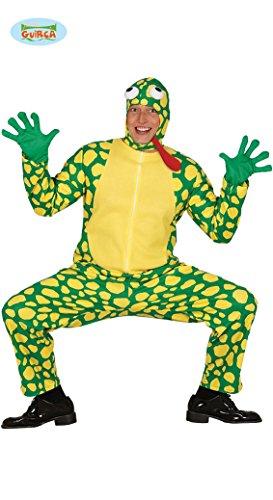 Frosch Kostüm für Erwachsene zu Karneval oder Halloween Gr. M-L, Größe:L (Frosch Und Kröte Halloween Kostüm)