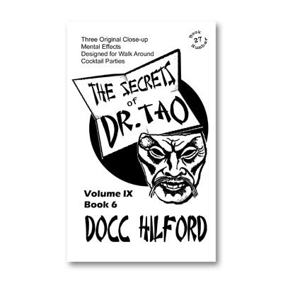 The Secrets Of Dr. Tao by Docc Hilford - Trick