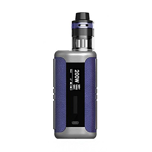 E-sigaretta originale Aspire Speeder Revvo 200W TC Kit con 200W Speeder MOD e Aspire Revvo Tank 2ml con ARC Coil Revvo Vape Kit No Nicotina No E Liquid (Blue Leather)