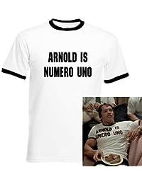 Arnold Is Numero Uno Arnold Schwarzenegger Gimnasio Camiseta Hombre No Oficial