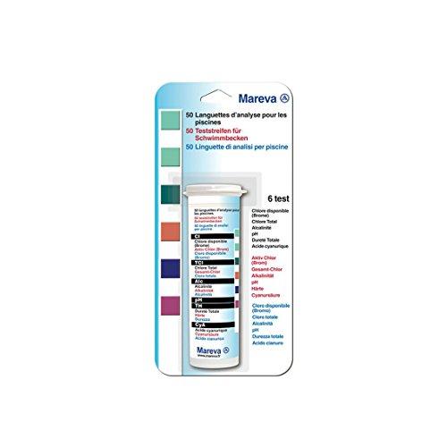 Mareva 06669 Languette d'Analyse Blanc 50 Pièces