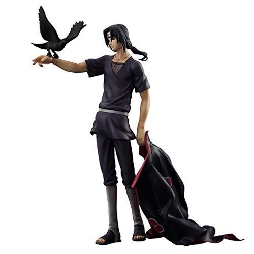 EASTVAPS Bonecos Figura Naruto Uchiha Itachi Figura de acción Colecci