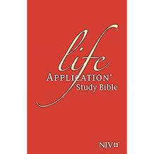NIV Life Application Study Bible (Anglicised) (New International Version)