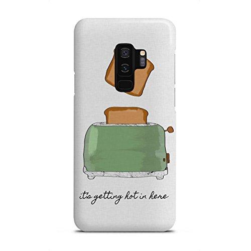 artboxONE Samsung Galaxy S9 Plus Premium-Case Handyhülle It's Getting Hot in Here von Orara Studio