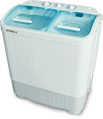 Howell HO.LP435C Autonome Charge supérieure 3.5kg Blanc machine à laver - Machines à laver (Autonome, Charge supérieure, Blanc, Rotatif, 3,5 kg, 520 mm)